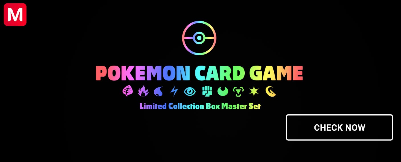 LIMITED COLLECTION POKÉMON BOX MASTER BATTLE SET