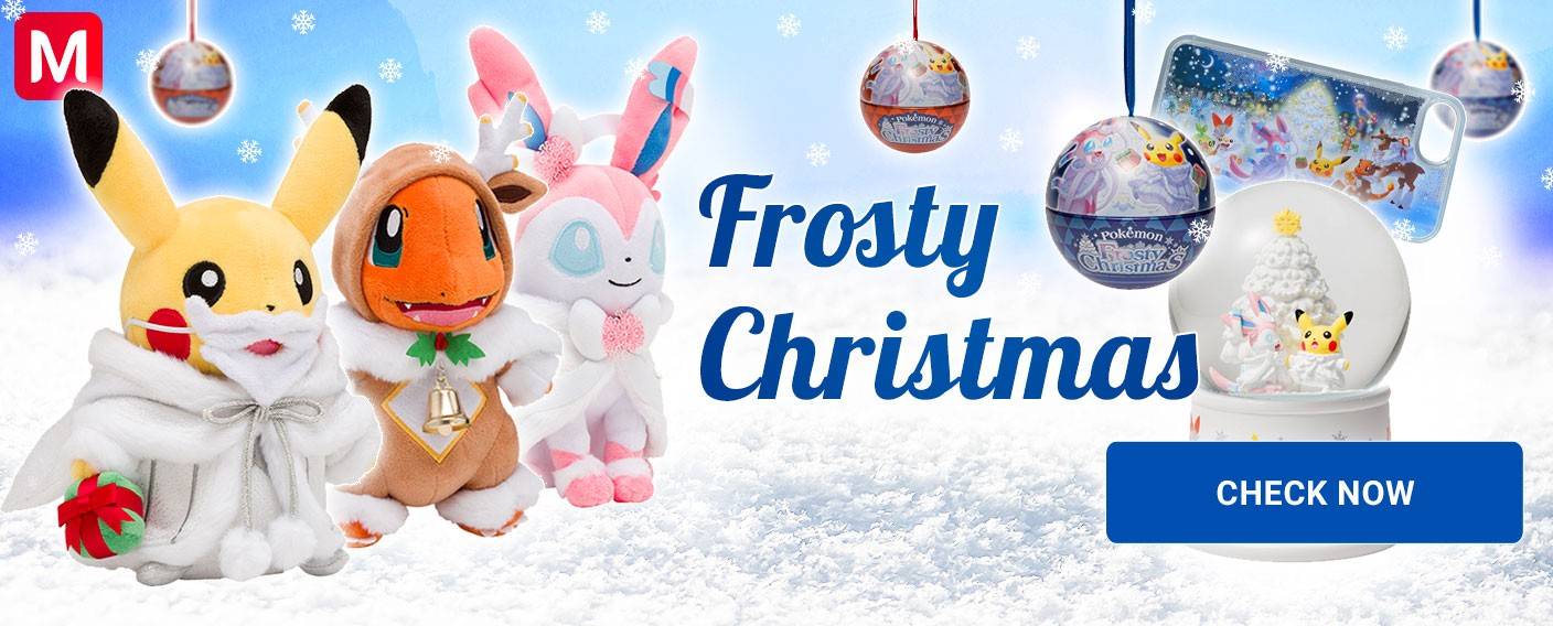 Pokémon Frosty Christmas 2019