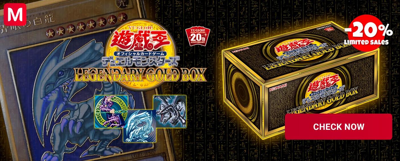 YuGiOh Legendary Gold Box