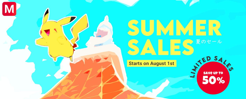 meccha japan summer sales