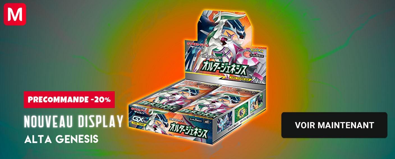 Pokemon display card alta genesis
