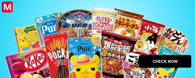 Cibo Kitkat pocky ramen japanese flavor